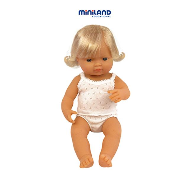 Miniland Educational Corporation MLE31152 Baby Dolls Caucasian Girl - image 1 of 1