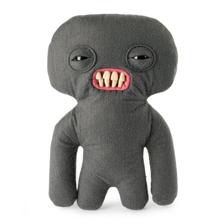 Disney 9 Inch Plush - Fuggler, Funny Ugly Monster, 9 Inch Squidge (Grey) Plush Creature with Teeth, for Ages 4 and Up