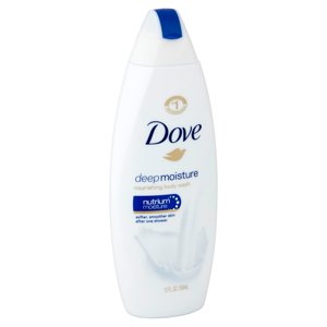 Dove Deep Moisture Body Wash 12 oz