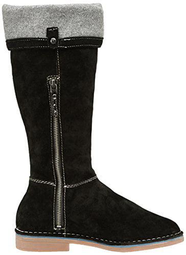 Hush Puppies Women's Cerise Catelyn Winter Boot, Black, 10 M US