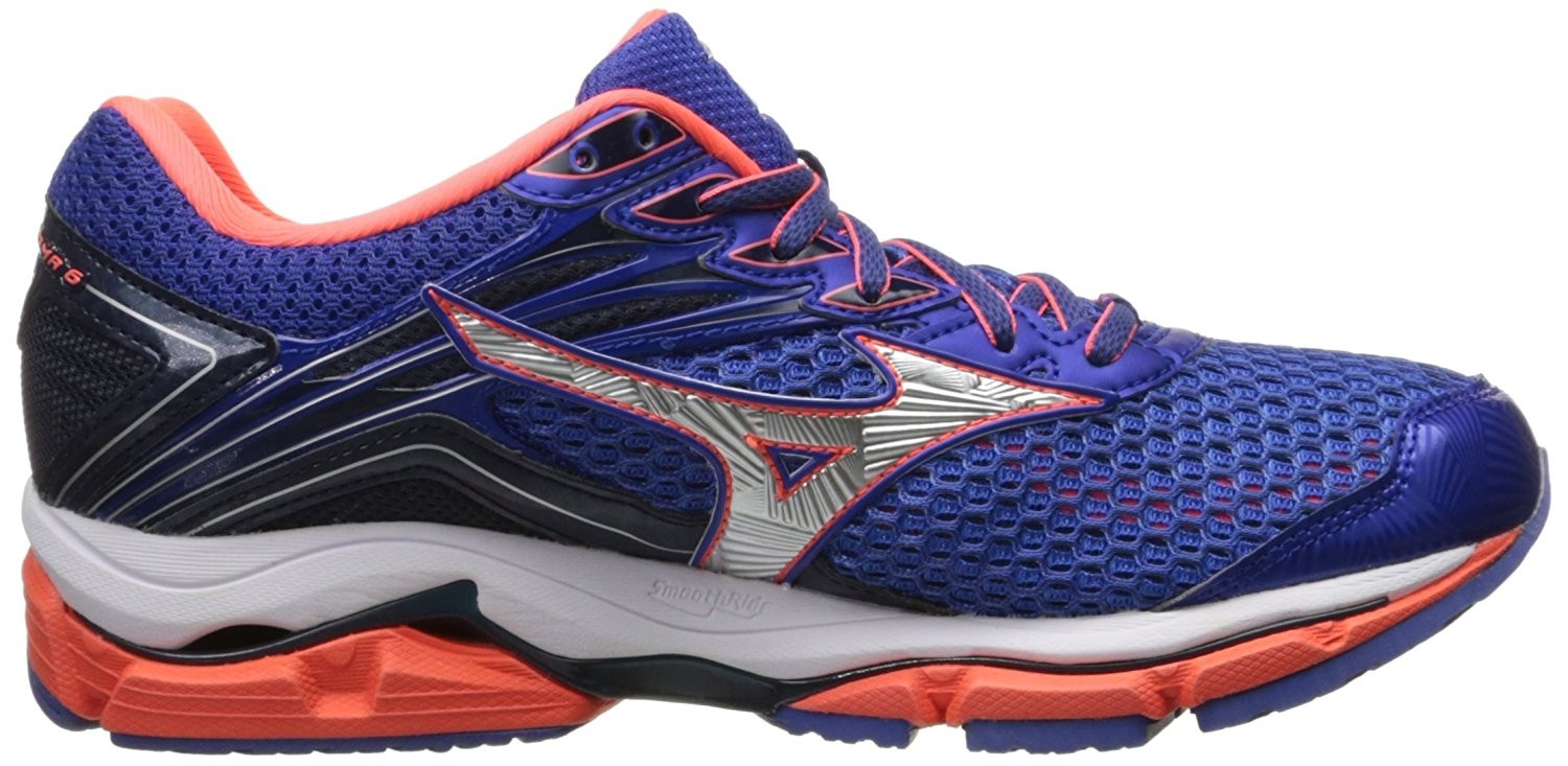 Mizuno Womens Wave Blue/Raspberry Enigma 6 Running Shoes Blue/Raspberry Wave Size 7.5 ef9e2f