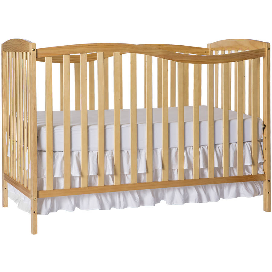 Dream On Me Chelsea 5-in-1 Convertible Crib Natural
