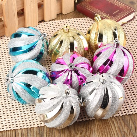 12-Pack 8cm Christmas Tree Hanging Balls Baubles Christmas Tree Ornaments Decorations for Home](Hanging Ornaments)