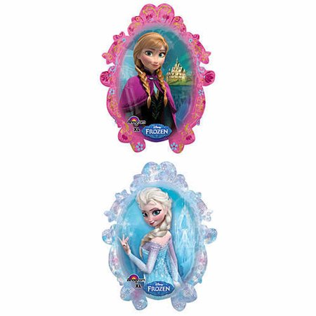 Disney Frozen Shaped Foil Balloon - Frozen Center Pieces