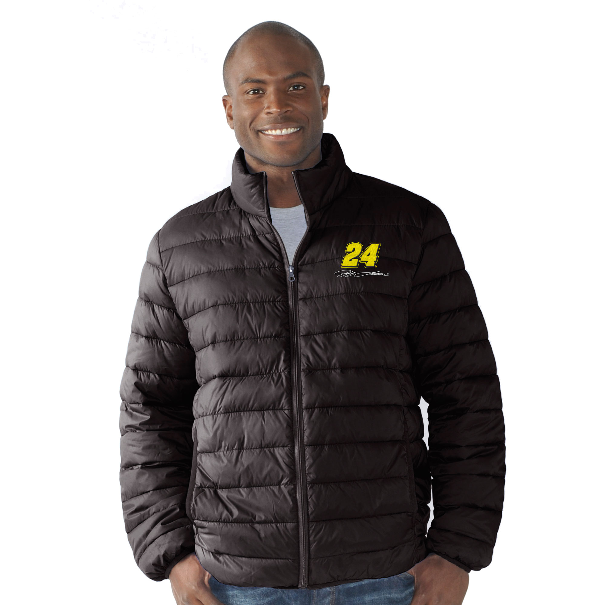Jeff Gordon G-III Sports by Carl Banks Packable Quilted Jacket - Black