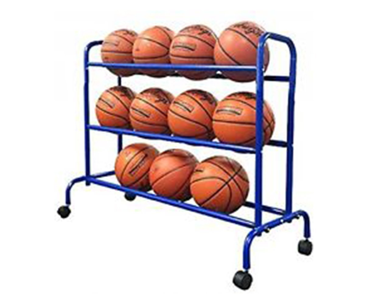 Pearson Portable Basketball Rack by