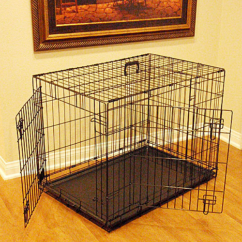Majestic Pet Double Door Pet Crate, Multiple Sizes Available