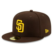 San Diego Padres New Era 2020 Authentic Collection On-Field 59FIFTY Fitted Hat - Brown