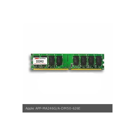DMS Compatible/Replacement for Apple MA246G/A Power Mac G5 2.0GHz Dual Core (M9590LL/A) 512MB eRAM Memory DDR2-533 (PC2-4200) 64x64 CL4 1.8v 240 Pin DIMM - DMS