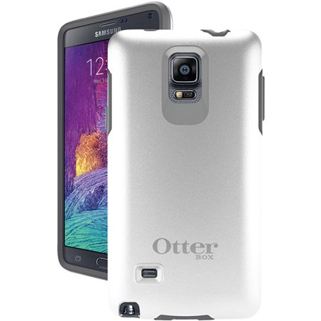 best website 2c508 9aff7 OtterBox Symmetry Case for Samsung Galaxy Note 4 White/Gray Cover OEM  Original