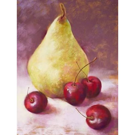 Perfect Pear Poster Print by  Nel Whatmore