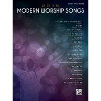 2016 Modern Worship Songs: Piano/Vocal/Guitar (Paperback)