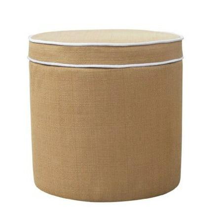 Groovy Calgary Swivel Storage Ottoman In Woven Wheat Short Links Chair Design For Home Short Linksinfo