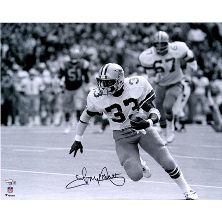 Tony Dorsett Dallas Cowboys Autographed 16