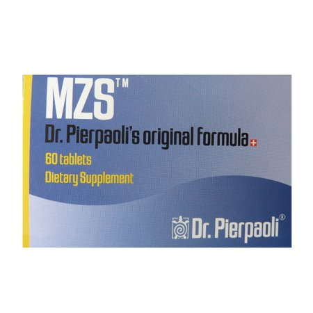Formulas Cholesterol Support 60 Tablets - MZS - Dr. Pierpaoli's Original Formula - 60 Tablets