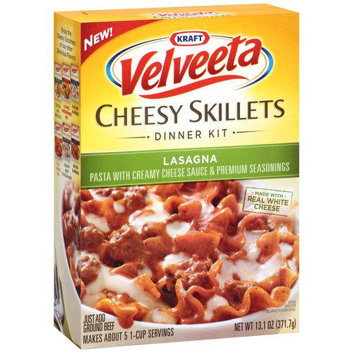 Kraft Velveeta Cheesy Skillets Lasagna, 13.1 oz