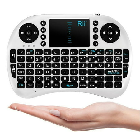 Rii Mini i8 2.4G Wireless Keyboard with Touchpad for PC Pad Google Android TV Box