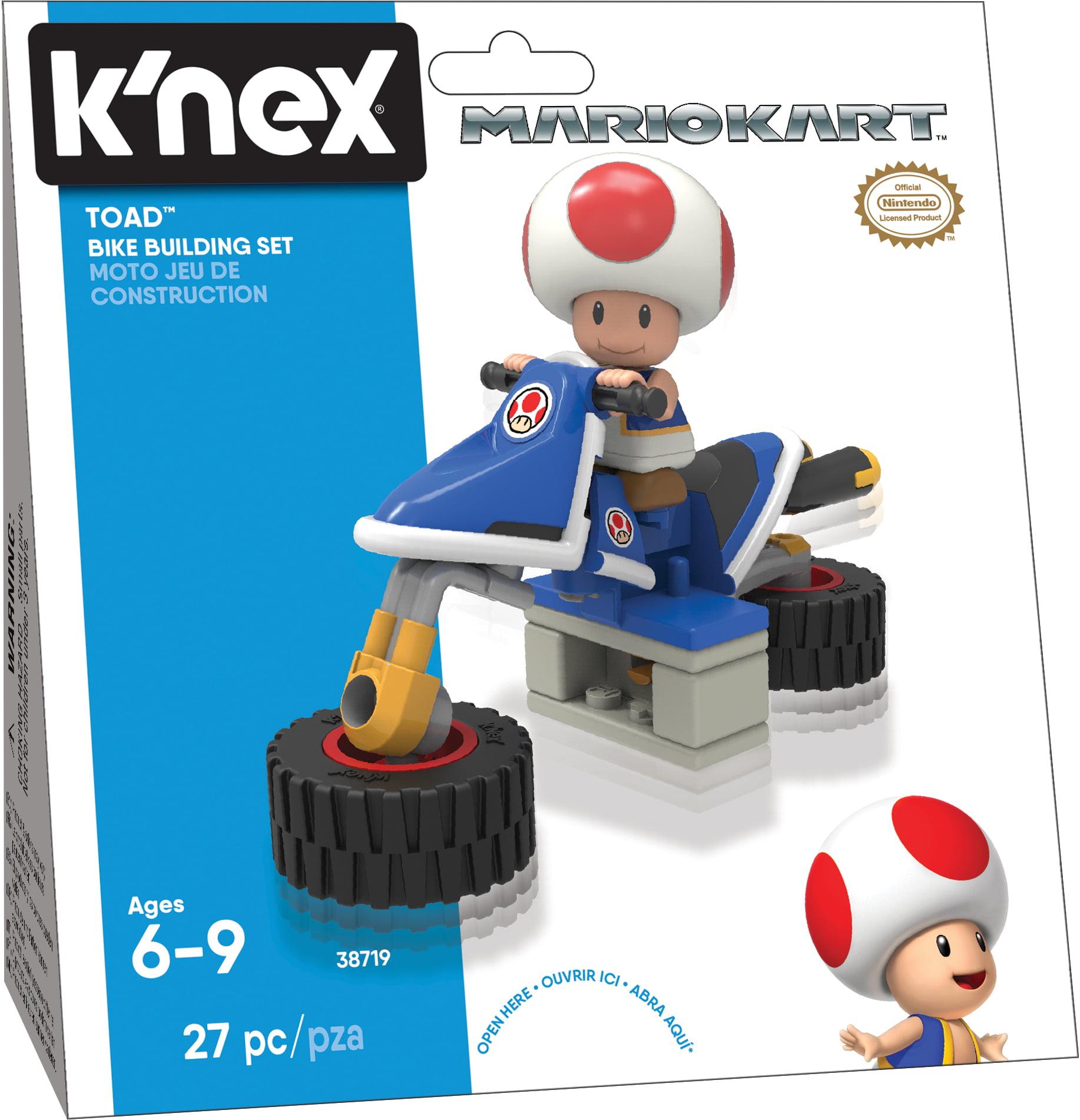 K'NEX Mario Kart Toad Bike Building Set