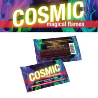 Cosmic Magical Flames: Creates Colorful Flames For Wood Burning Fires! (12 pack)