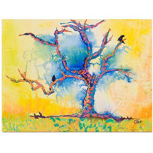 "Trademark Art ""Wind Riders"" Canvas Art by Pat Sanders-White, 24x32"