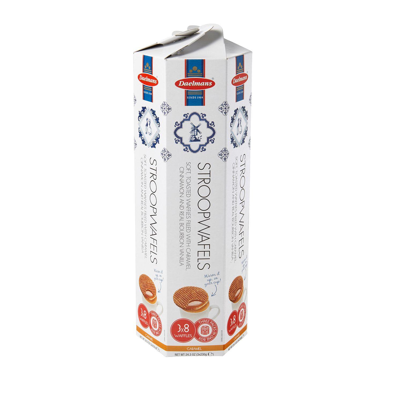 Daelmans Stroopwafels Gift Box, 24 Wafers (24.3 Ounce)