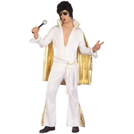 Rock N Roll Elvis Adult Costume - Best Rock And Roll Halloween Costumes