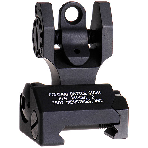 Rear Folding Battle Sight - BLK