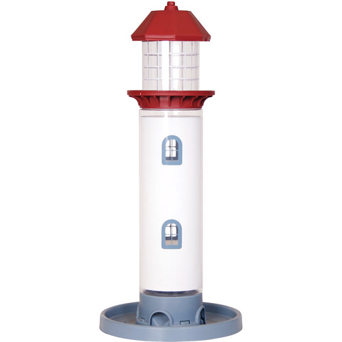 Pet Zone Lighthouse Seed Decorative Bird Feeder