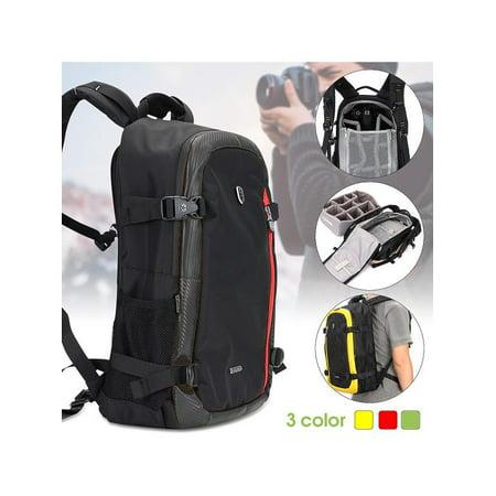 Waterproof Travel Camera Backpack Shoulder Bag Laptop Case For DSLR Cameras   c3971fc018a4d