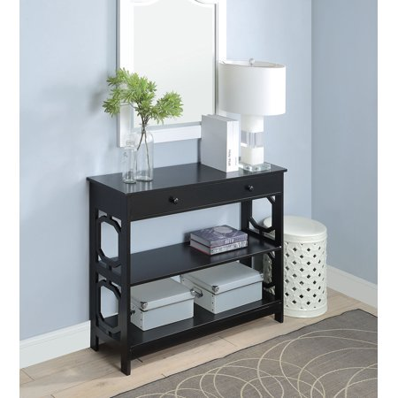 Convenience Concepts Omega 1 Drawer Console Table , Multiple Finishes ()