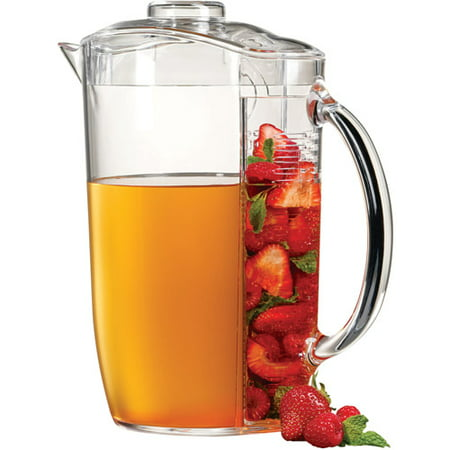 Pro Ice Pitchers Kit - Prodyne Iced Fruit Infusion Pitcher with Ice Core
