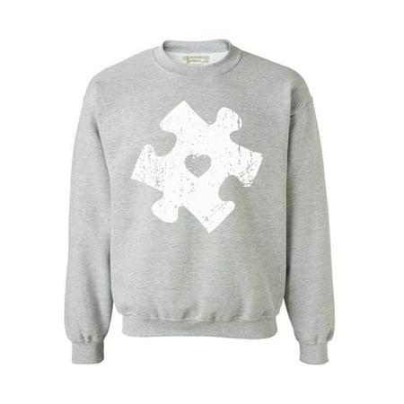 Awkward Styles Unisex Puzzle Graphic Sweatshirt Tops for Autism (Unisex Style)