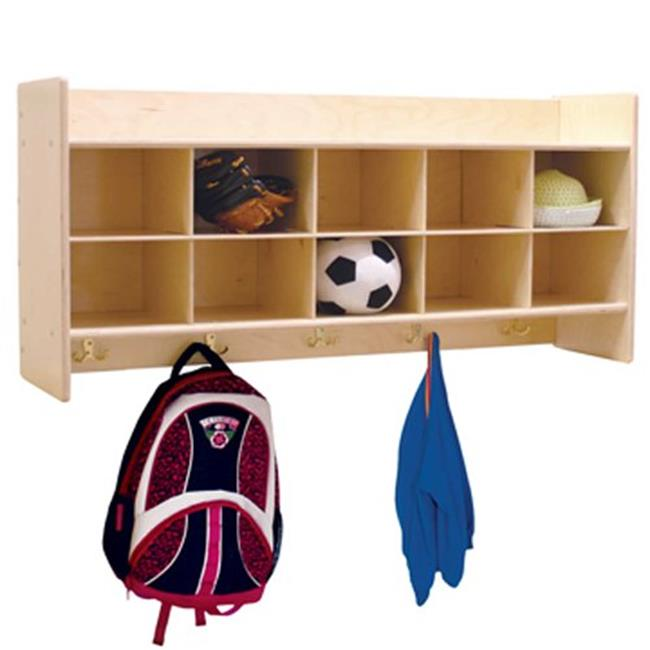 Contender C51409 Contender Wall Locker & Cubby Storage Without Trays