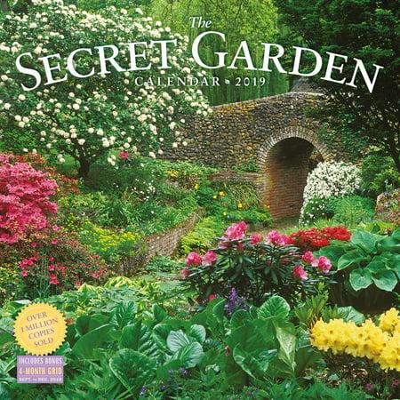 Garden Calendar - Secret Garden Wall Calendar 2019 (Other)