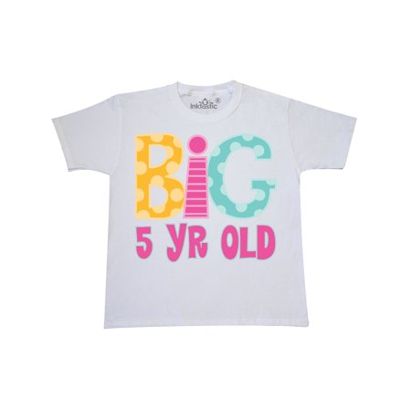 5th Birthday Big 5 Year Old Youth T-Shirt](Kids Back To School Clothes)