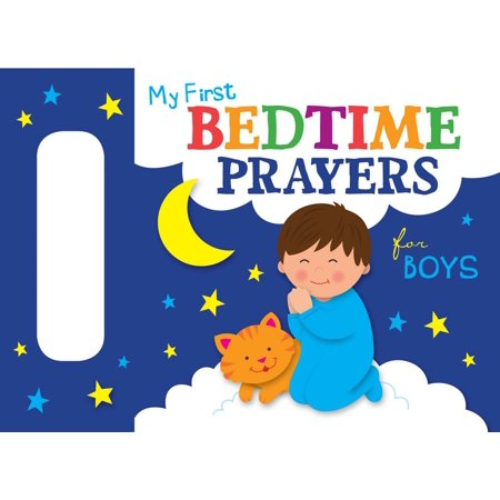 My First Bedtime Prayers for Boys (Board Book)](Boy First Communion Gifts)