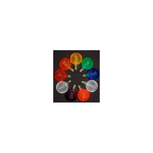 Queens of Christmas 1.7W LED Light Bulb (Pack of 10)