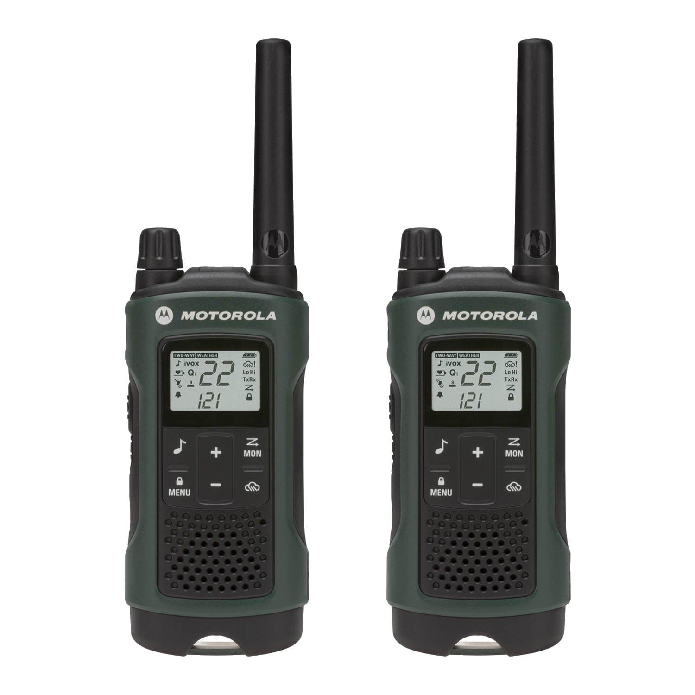 35 Mile 2 Pack NOAA Radios w/ PTT Earbud