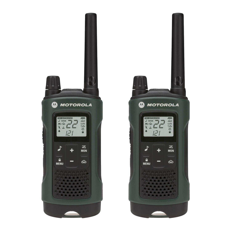 Motorola T465 Rechargeable 2-Way Radio, Green