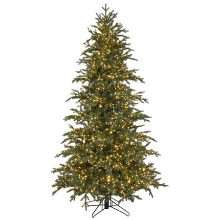 The Holiday Aisle Nordic Fir Artificial Christmas Tree with Warm White  Lights with Remote - The Holiday Aisle Nordic Fir Artificial Christmas Tree With Warm