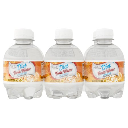 Great Value Diet Tonic Water  8 5 Fl Oz  6 Pack