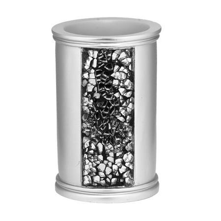 Antique Silver Bathroom Accessories - Popular Bath Sinatra Silver Collection - Bathroom Tumbler