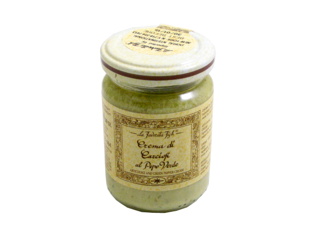 Artichoke and Green Peppercorn Cream by La Favorita by