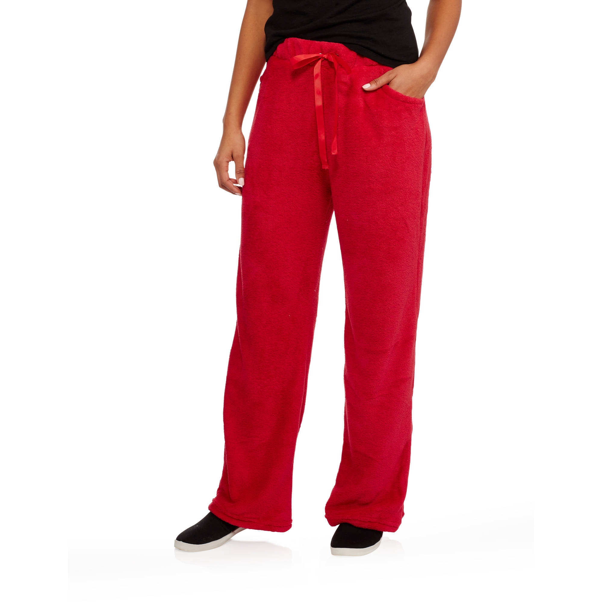 Eye Candy Juniors' Basic Fleece Lounge Pants with Drawstring