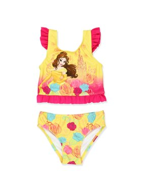 df062535f02db Product Image Disney Princess Belle Toddler Girls Two Piece Tankini Swimsuit  7825857PR
