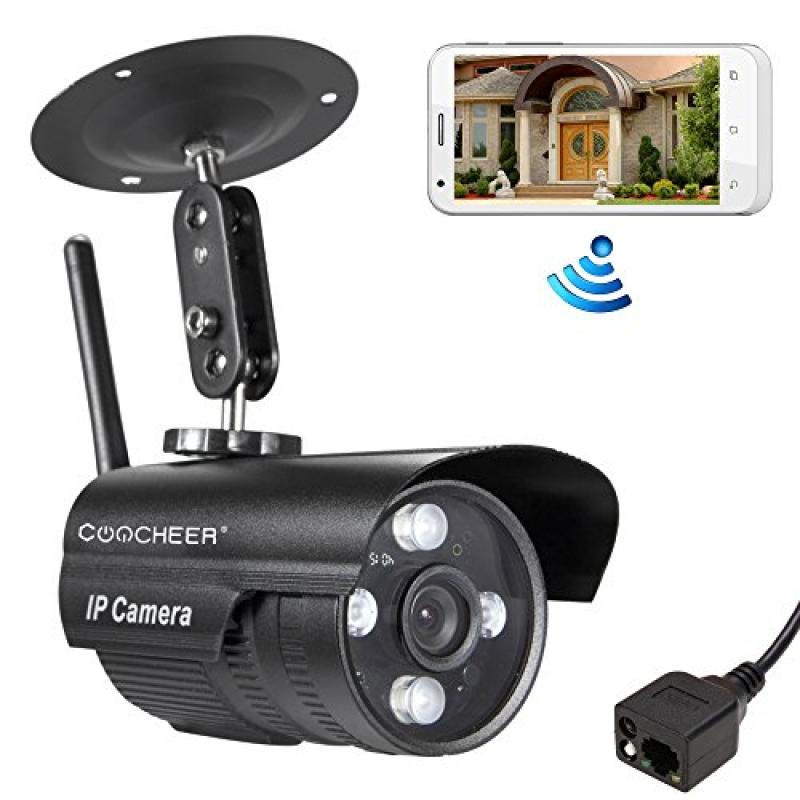 Coocheer HD Wireless WiFi Surveillance Network IP Camera Home/Mall/Hotel Security Camera/Webcam With Night Vision