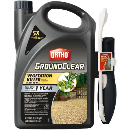 Ortho GroundClear Vegetation Killer Ready-To-Use1 with Comfort Wand 1.33 Gal