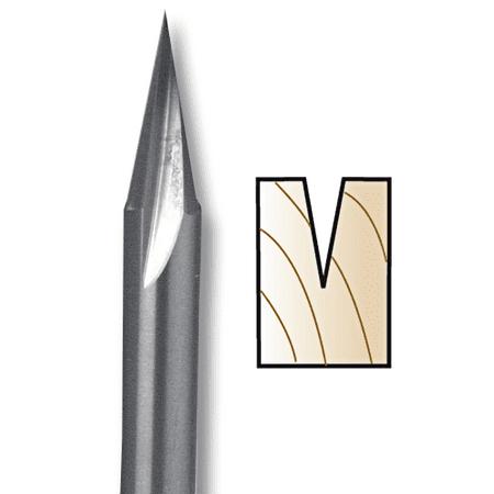 Whiteside Carving Liner CNC Router Bit, 5/8\