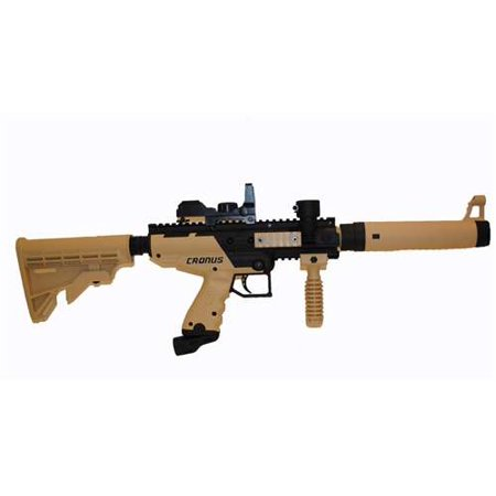 Tippmann Cronus Paintball Gun with Electronic Quick Aim Red Dot Sight