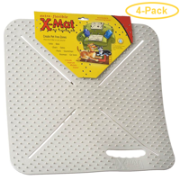 Mammoth X-Mat Flexible Pet Training Aid 18 Long x 18 Wide - Pack of 4